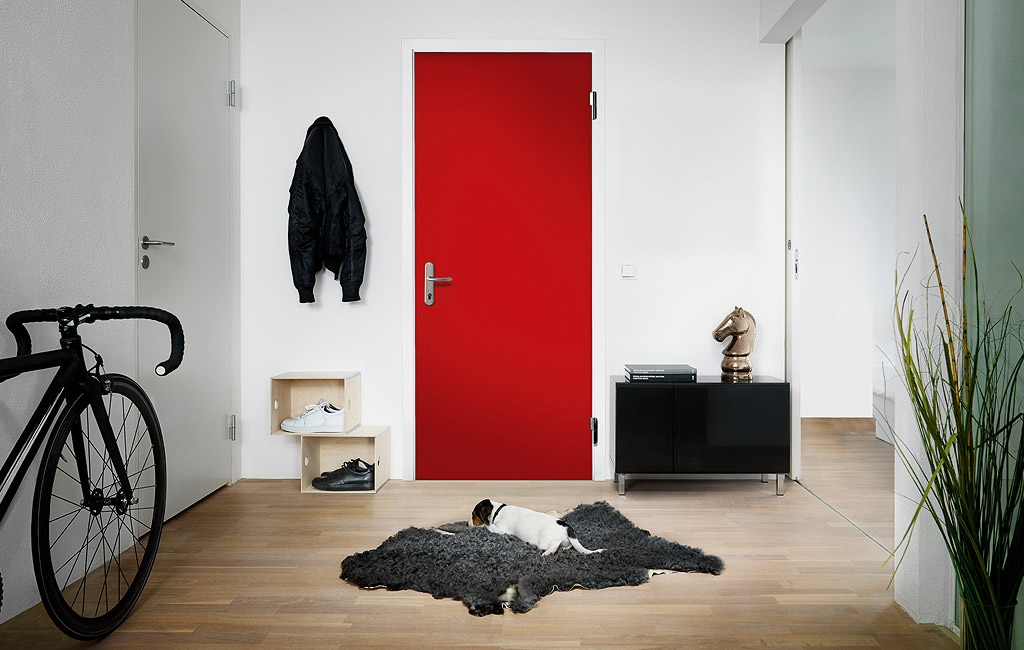 Daloc Red Security Door